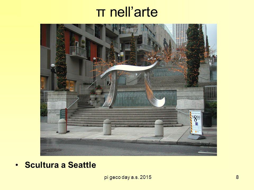 pi geco day a.s. 2015 π nell'arte Scultura a Seattle 8