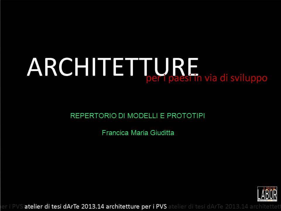 REPERTORIO DI MODELLI E PROTOTIPI Francica Maria Giuditta