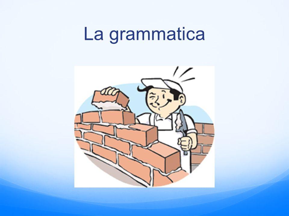 La grammatica