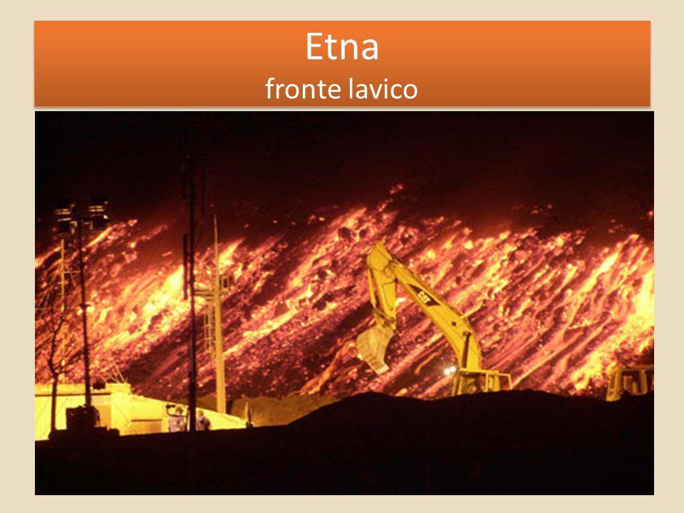Etna fronte lavico