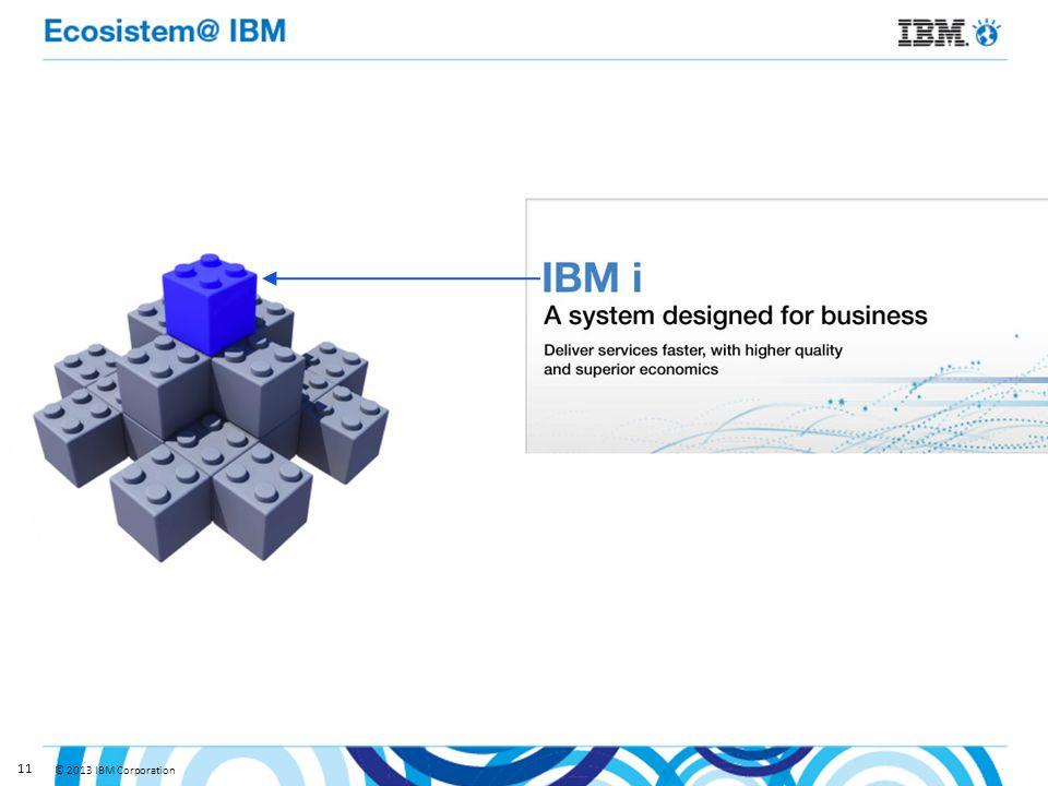 © 2013 IBM Corporation 11