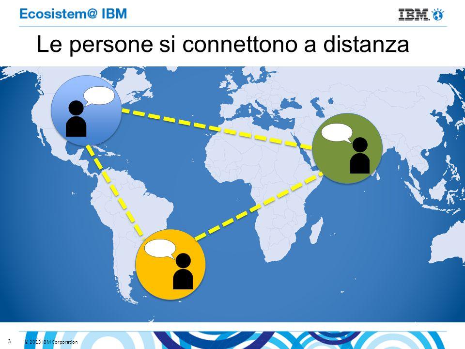 3 Le persone si connettono a distanza