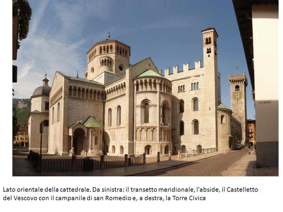 Lato orientale della cattedrale.