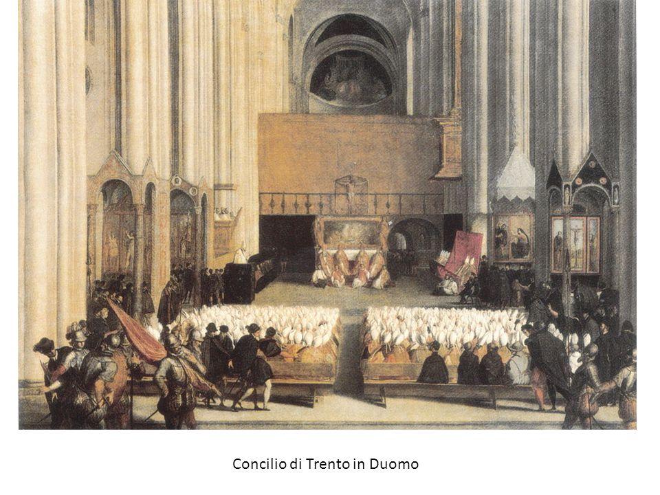 Concilio di Trento in Duomo