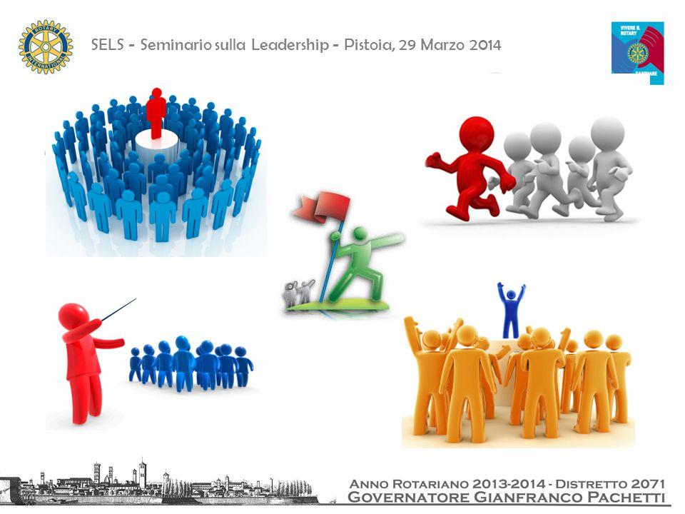 SELS - Seminario sulla Leadership - Pistoia, 29 Marzo 2014 Question time e approfondimenti