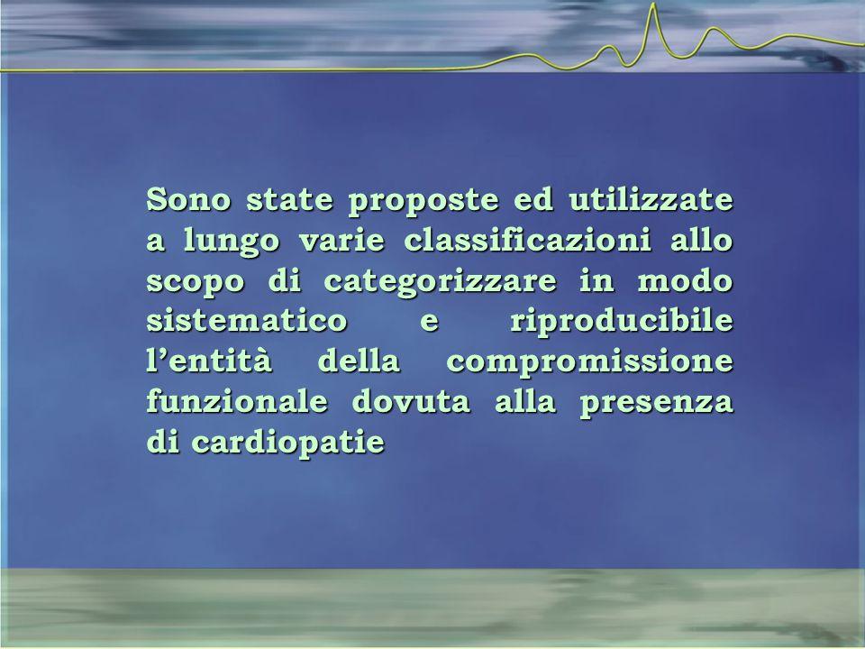 Sono state proposte ed utilizzate a lungo varie classificazioni allo scopo di categorizzare in modo sistematico e riproducibile l'entità della comprom