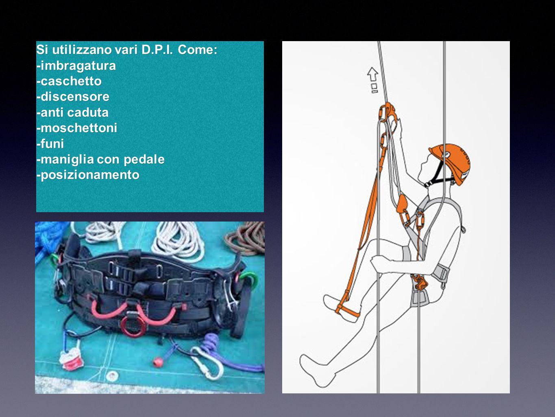 Teoria Tree climbing Per superare il corso, occorre fare un percorso teorico nel quale si imparano i nomi e gli utilizzi dei vari dispositivi di protezione individuale, i vari tipi di ancoraggi e nodi necessari per lavorare in sicurezza.