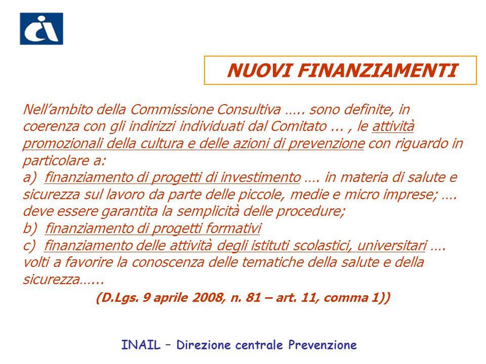 Nell'ambito della Commissione Consultiva ….. sono definite, in coerenza con gli indirizzi individuati dal Comitato..., le attività promozionali della