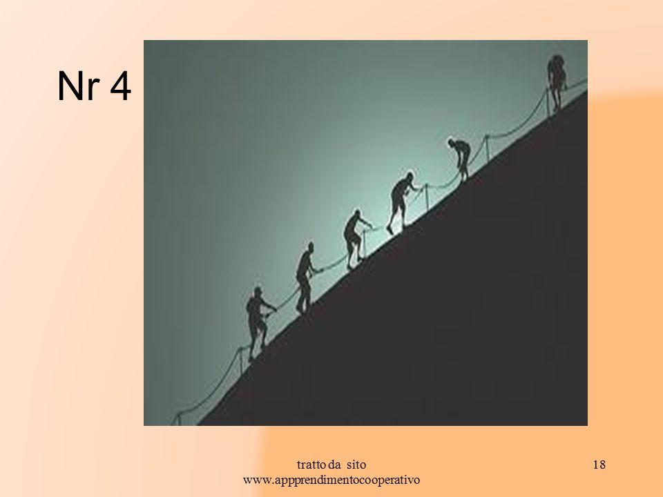 Nr 4 tratto da sito www.appprendimentocooperativo 18