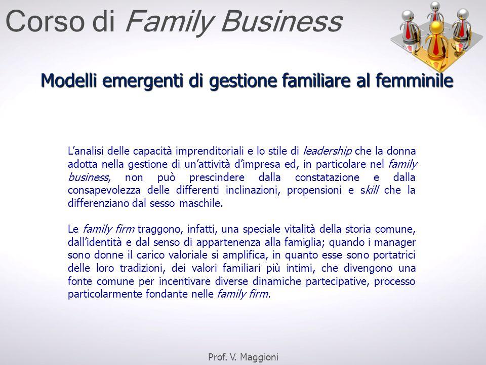 L'analisi delle capacità imprenditoriali e lo stile di leadership che la donna adotta nella gestione di un'attività d'impresa ed, in particolare nel f