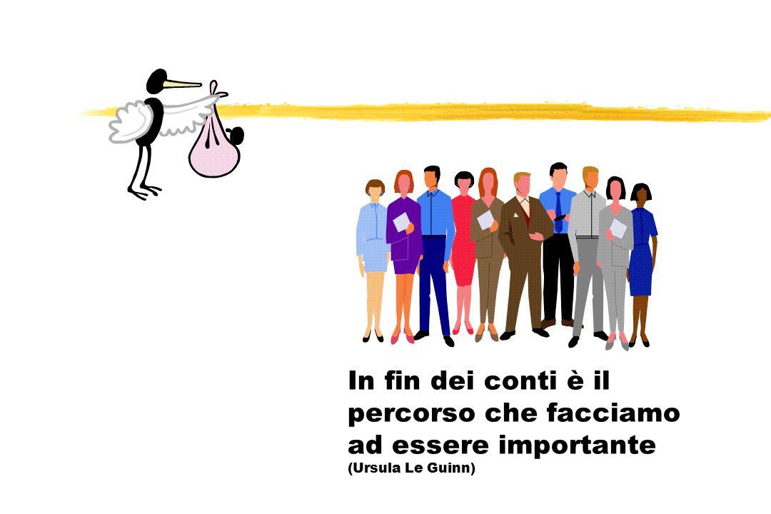 In fin dei conti è il percorso che facciamo ad essere importante (Ursula Le Guinn)