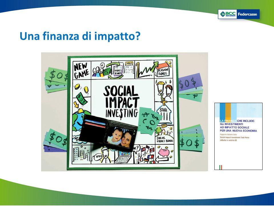 Una finanza di impatto?