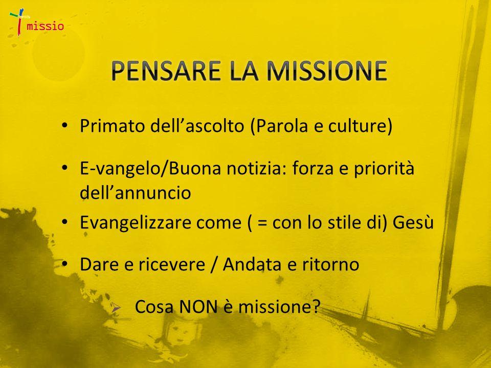 La dimensione missionaria.