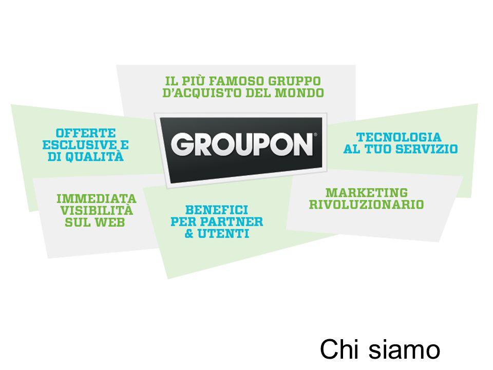 NON Groupon Partners Groupon Partners Rispetto alle Aziende non Partner, si rilevano maggiori investimenti e maggiore multi-canalità Valori %