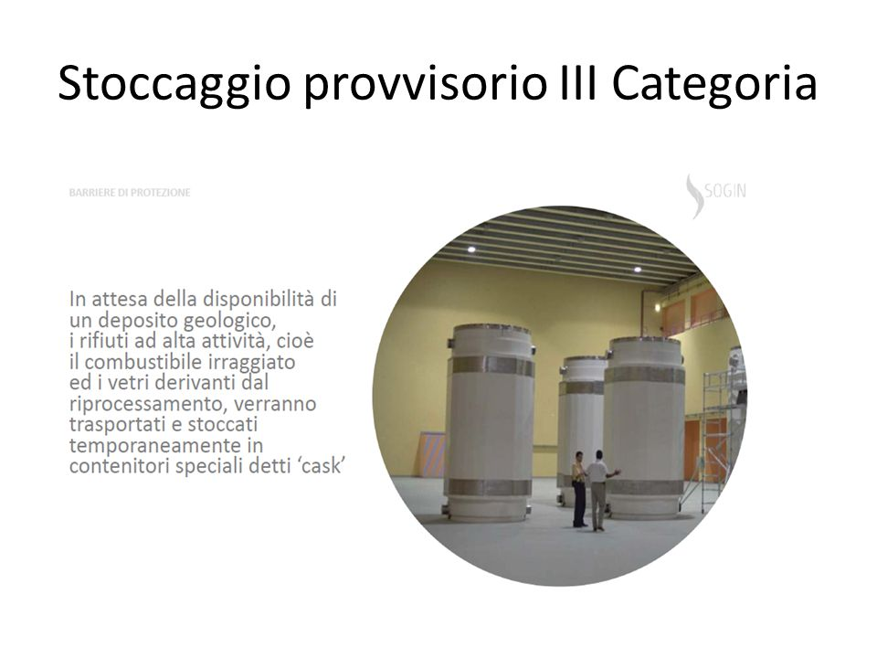 Stoccaggio provvisorio III Categoria