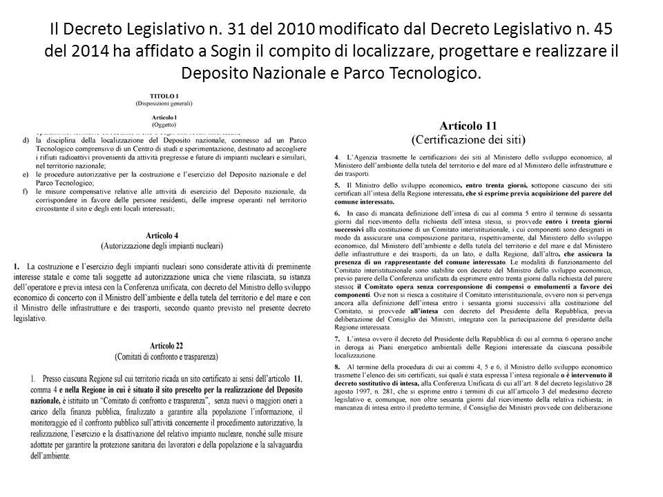 Il Decreto Legislativo n. 31 del 2010 modificato dal Decreto Legislativo n.