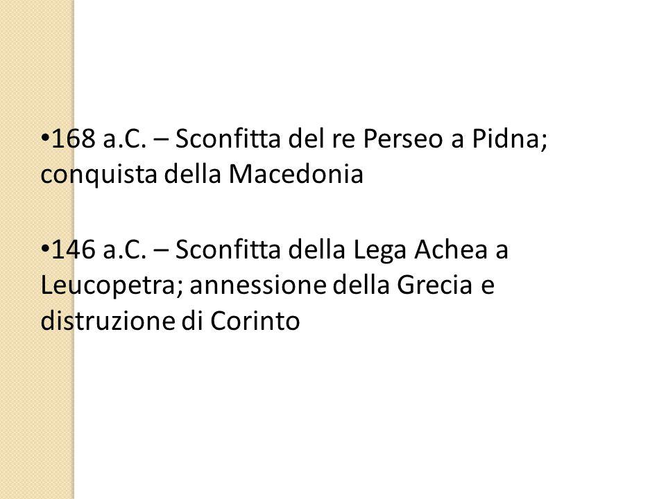 «Graecia capta ferum victorem cepit et artes intulit agresti Latio» (Hor., Epist. II, 1,156s.)