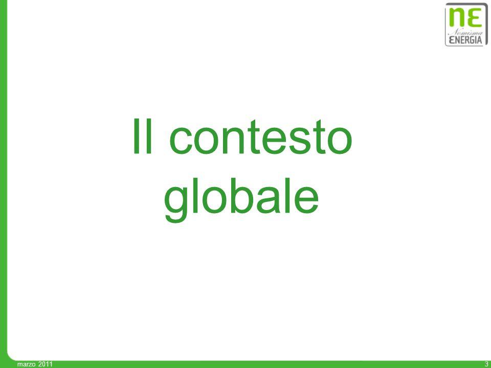 3 Il contesto globale