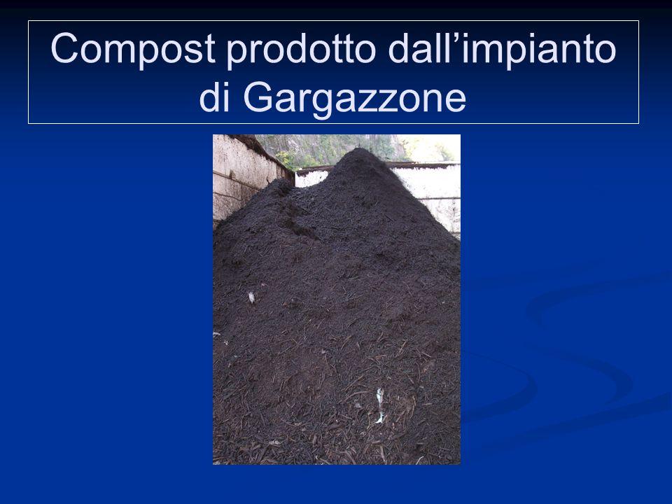 Compost prodotto dall'impianto di Gargazzone