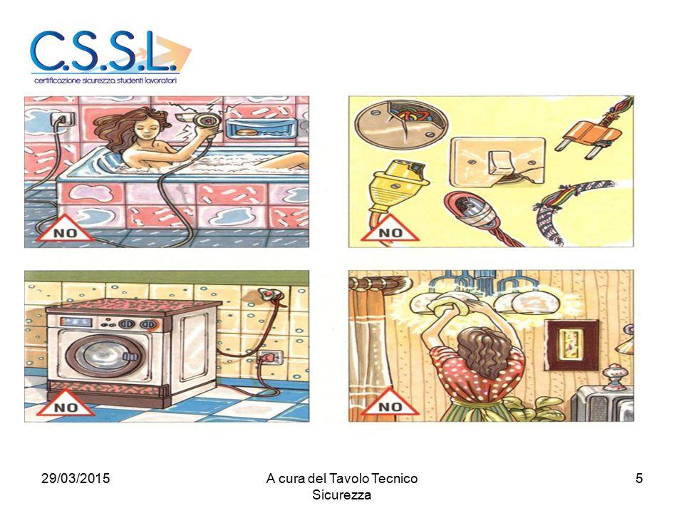 529/03/2015A cura del Tavolo Tecnico Sicurezza