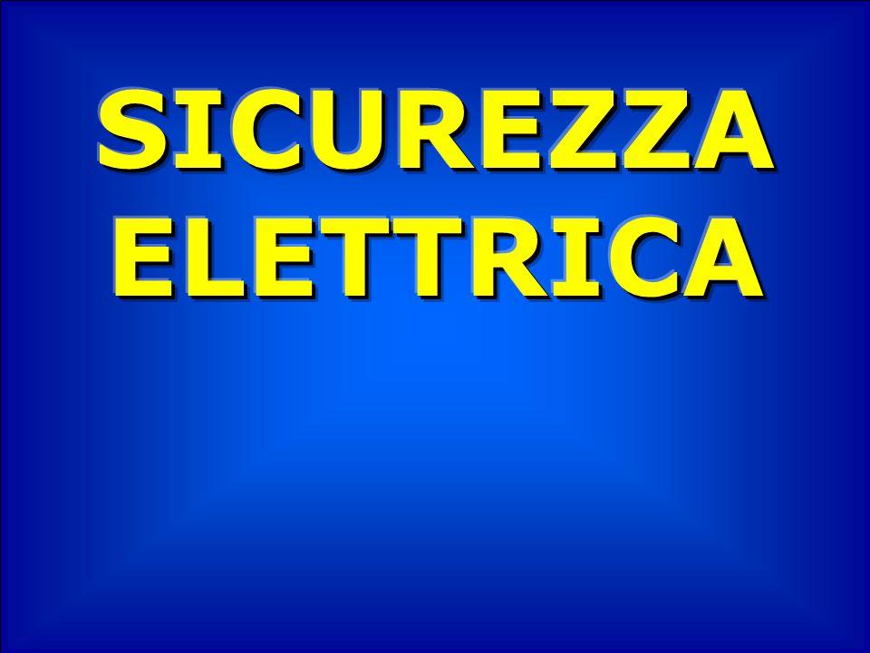 TETANIZZAZIONE È quel fenomeno per cui la corrente elettrica produce la contrazione involontaria dei muscoli.