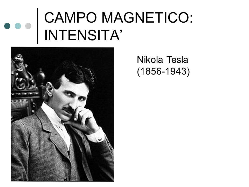CAMPO MAGNETICO: INTENSITA' Nikola Tesla (1856-1943)