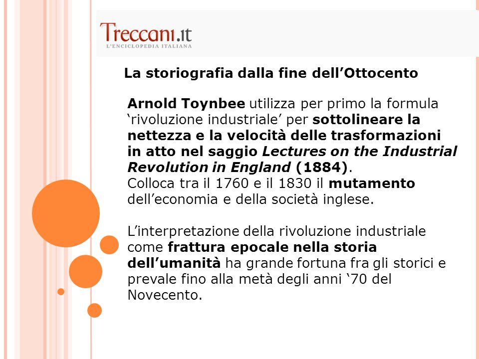 La rivoluzione industriale..