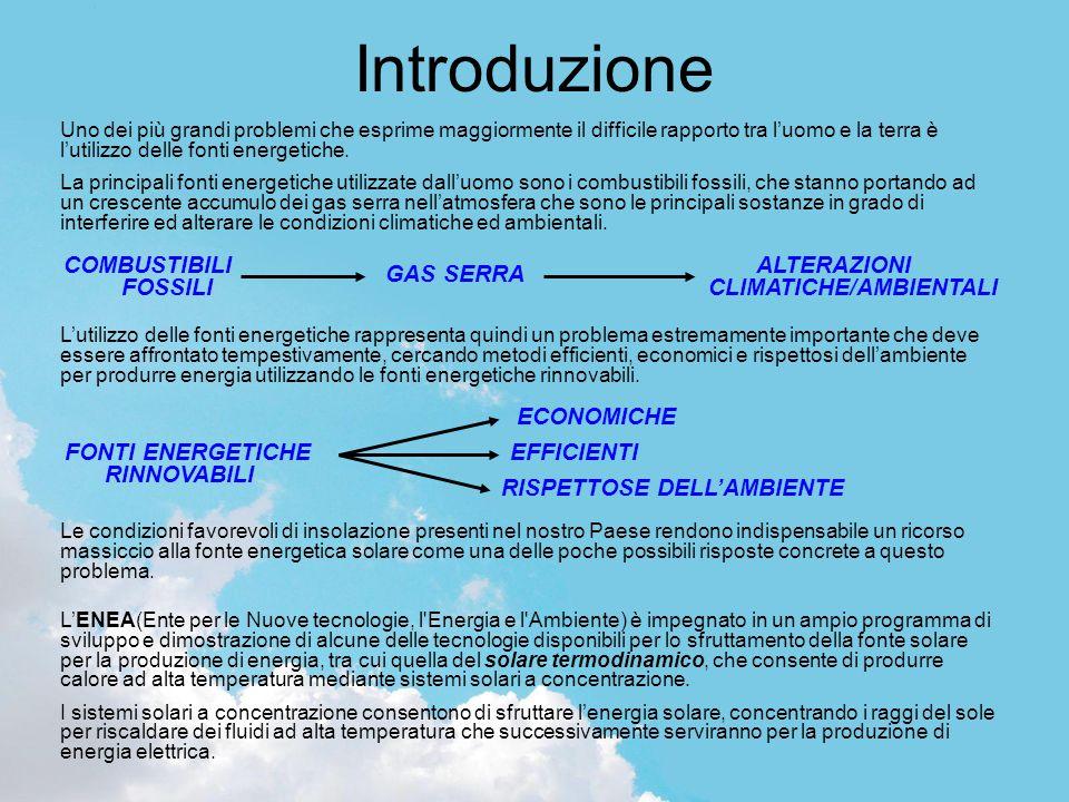 Introduzione Uno dei più grandi problemi che esprime maggiormente il difficile rapporto tra l'uomo e la terra è l'utilizzo delle fonti energetiche.