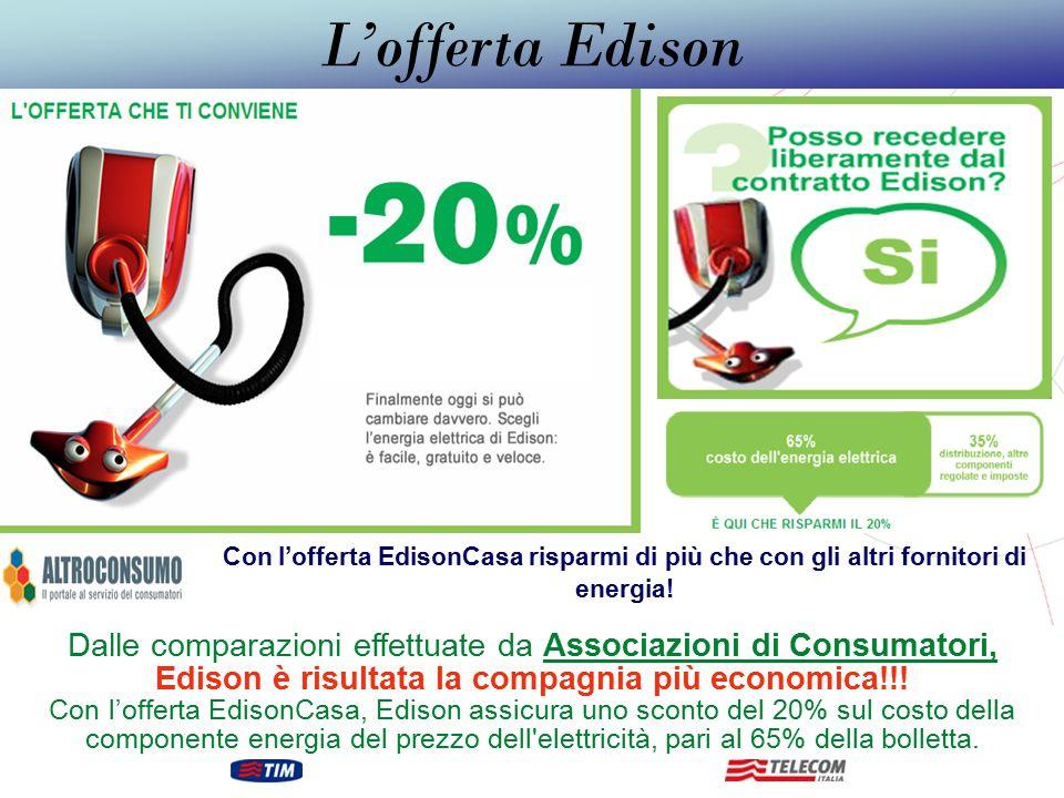 GRUPPO TELECOM ITALIA Un risparmio che arriva fino ad un 20% meno rispetto ai costi attuali !