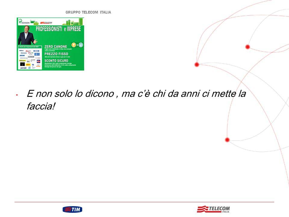 GRUPPO TELECOM ITALIA Mercato dell'energia Italiano