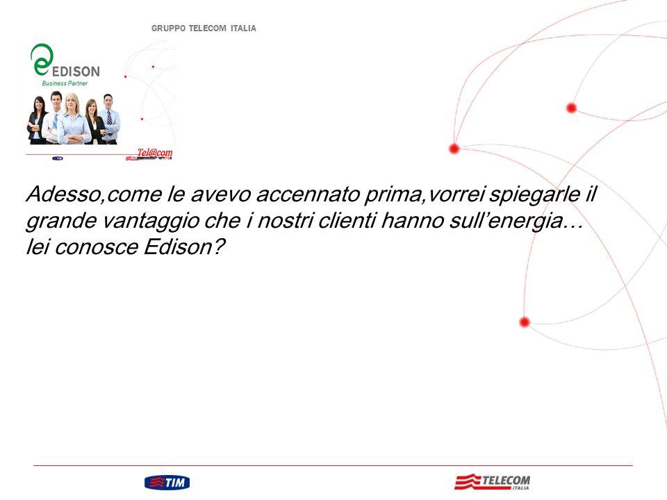 GRUPPO TELECOM ITALIA 7 Produzione e Vendita Energia e Gas Ricavi 19,4% Fatturato 2008 € 110 miliardi Edison è il secondo operatore italiano ed è uno dei maggiori produttori di energia in Europa Edison è stata la prima società elettrica d'Italia ed è una delle più antiche al mondo Chi è Edison…