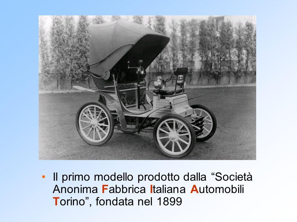 """Il primo modello prodotto dalla """"Società Anonima Fabbrica Italiana Automobili Torino"""", fondata nel 1899"""