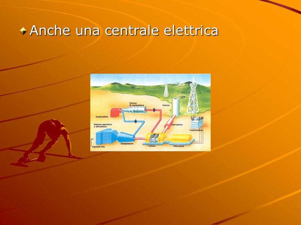Anche una centrale elettrica