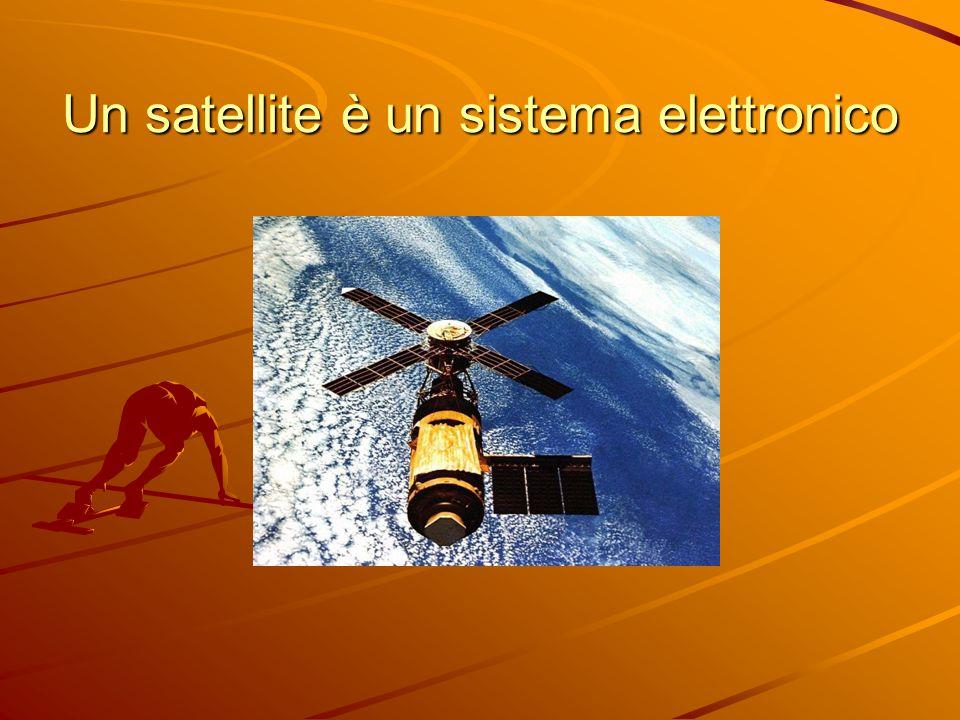Un satellite è un sistema elettronico