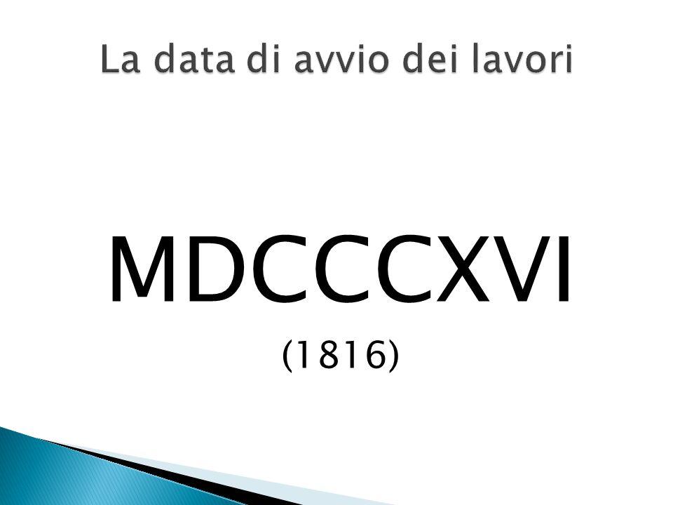 MDCCCXVI (1816)