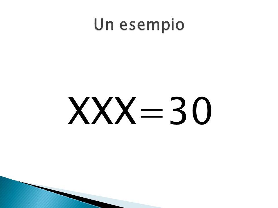 XXX=30