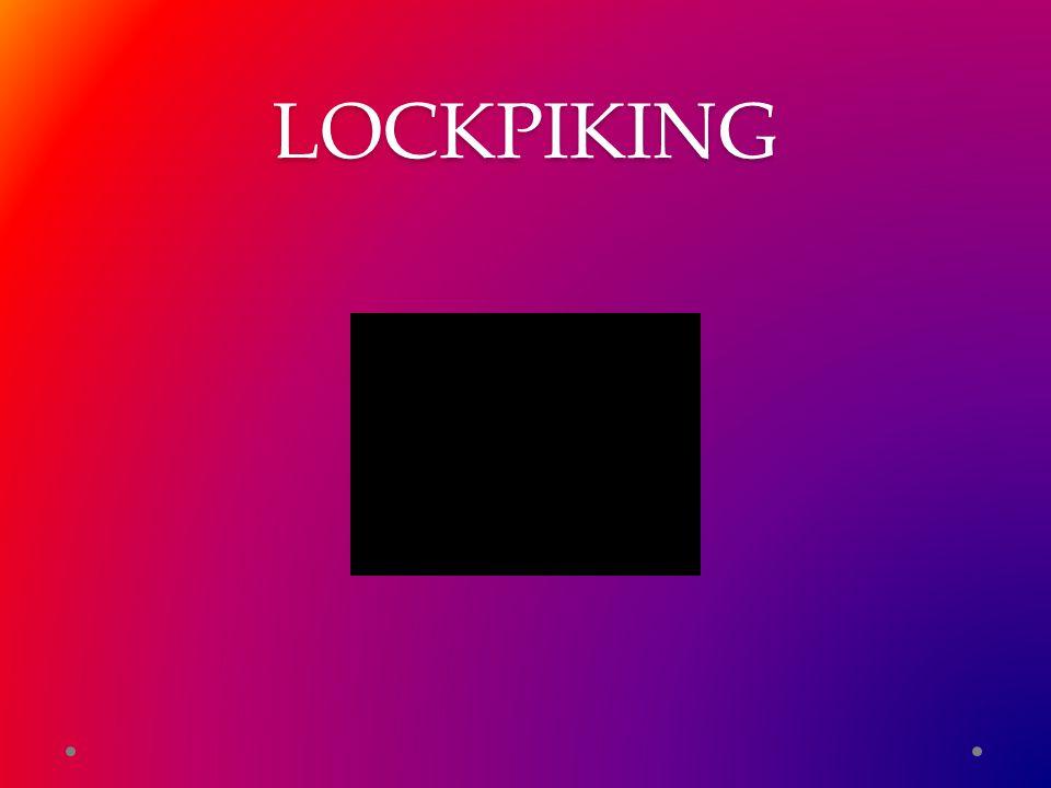 LOCKPIKING