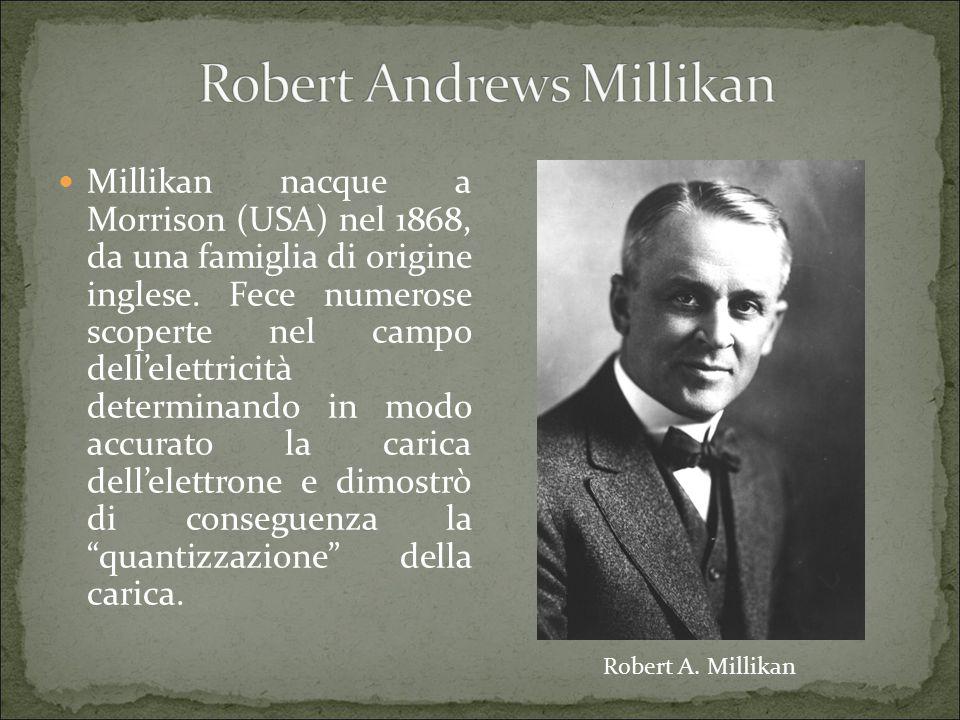 Millikan nacque a Morrison (USA) nel 1868, da una famiglia di origine inglese.