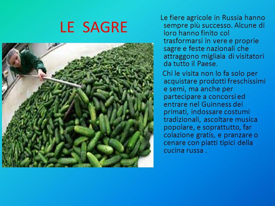LE SAGRE Le fiere agricole in Russia hanno sempre più successo.