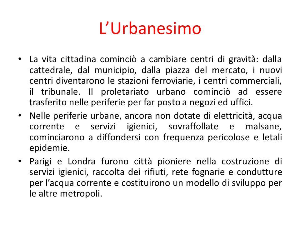 L'Urbanesimo La vita cittadina cominciò a cambiare centri di gravità: dalla cattedrale, dal municipio, dalla piazza del mercato, i nuovi centri divent