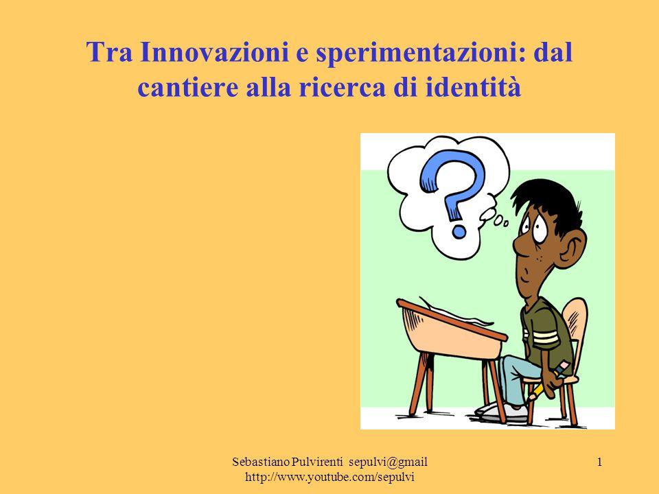 Sebastiano Pulvirenti sepulvi@gmail http://www.youtube.com/sepulvi 2 Organizzazione degli incontri provinciali Spazio caffè (raccolta preliminare quesiti) Spazio introduttivo (isp.