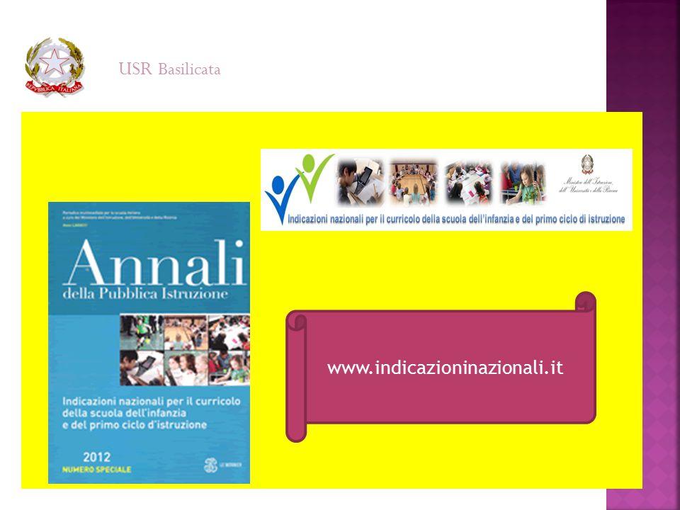 www.indicazioninazionali.it