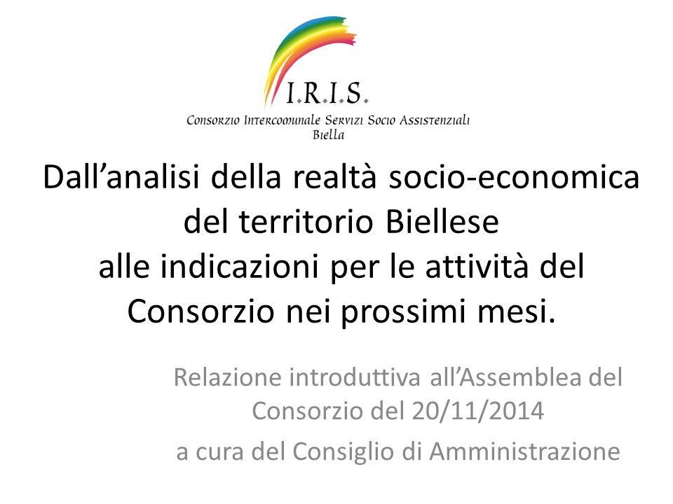 Dall'analisi della realtà socio-economica del territorio Biellese alle indicazioni per le attività del Consorzio nei prossimi mesi.