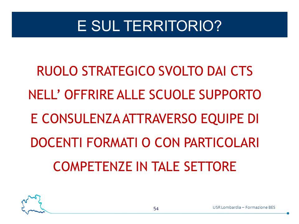 54 USR Lombardia – Formazione BES E SUL TERRITORIO.