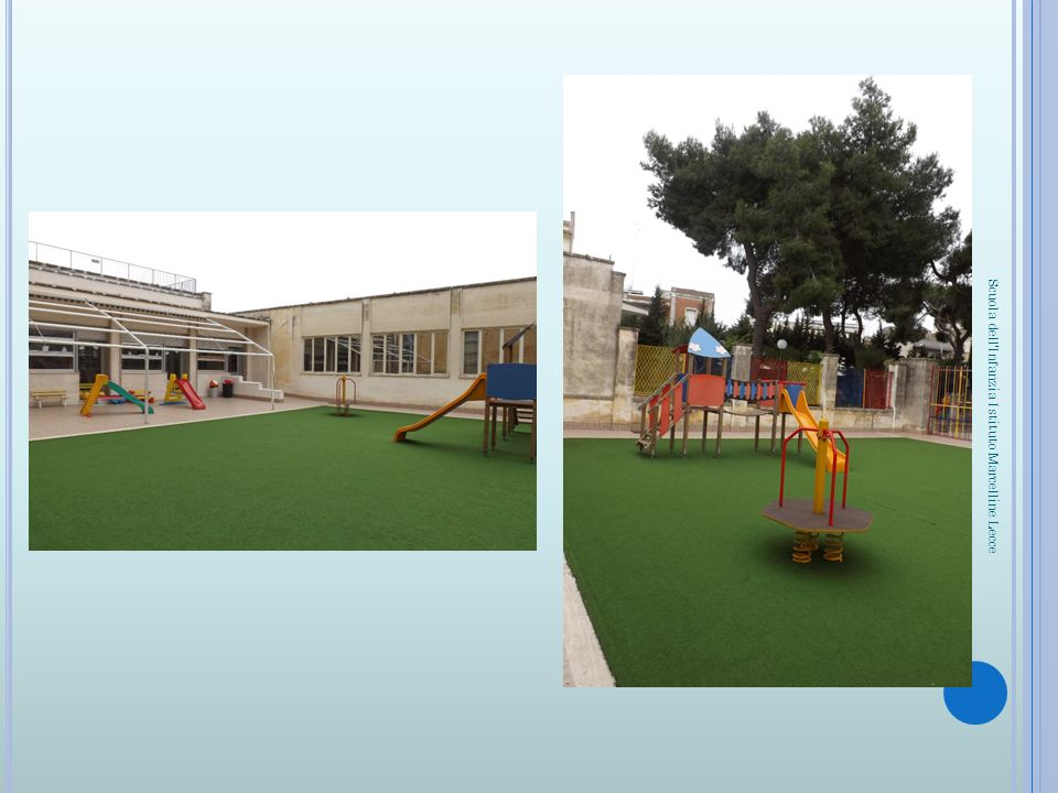 Foto giardino interno Scuola dell'Infanzia Istituto Marcelline Lecce