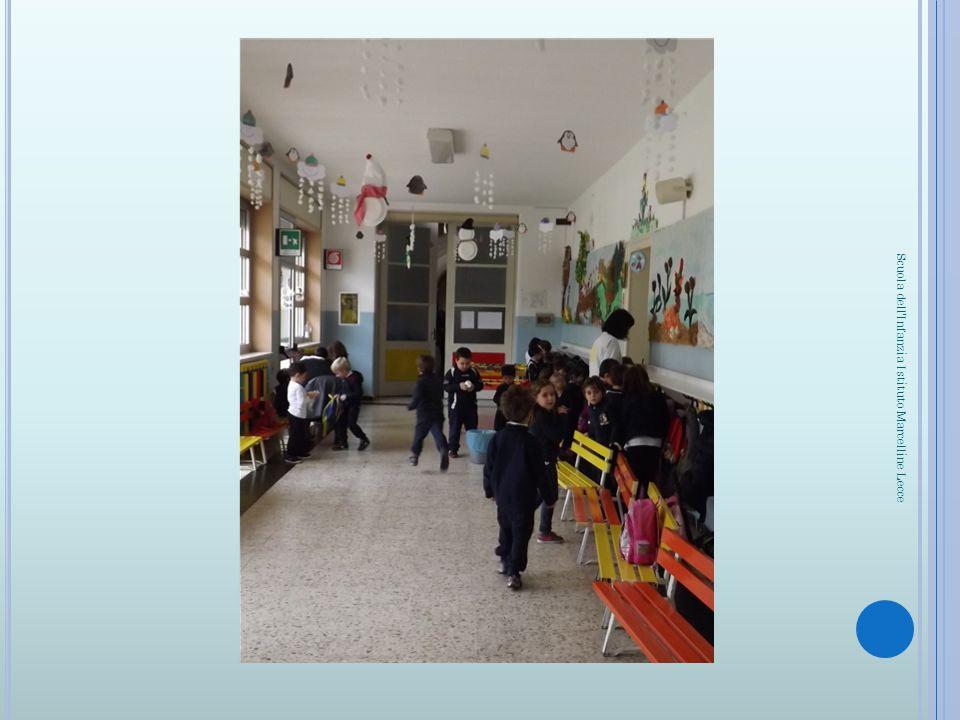 LA PALESTRA, IN CUI VENGONO ESEGUITI ESERCIZI MOTORI O GIOCHI DI GRUPPO Scuola dell Infanzia Istituto Marcelline Lecce