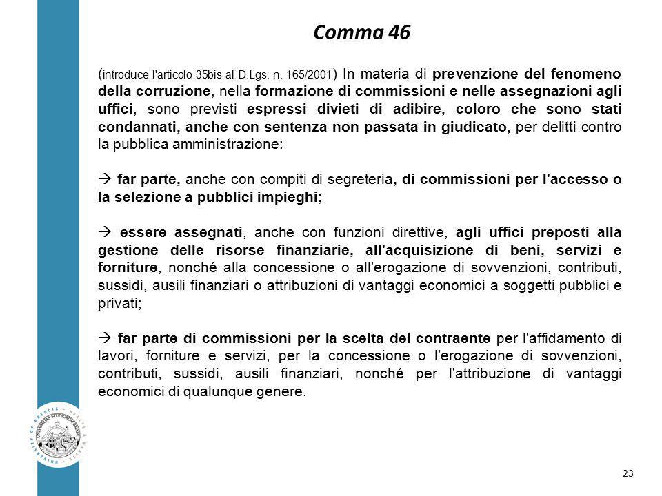 ( introduce l articolo 35bis al D.Lgs. n.