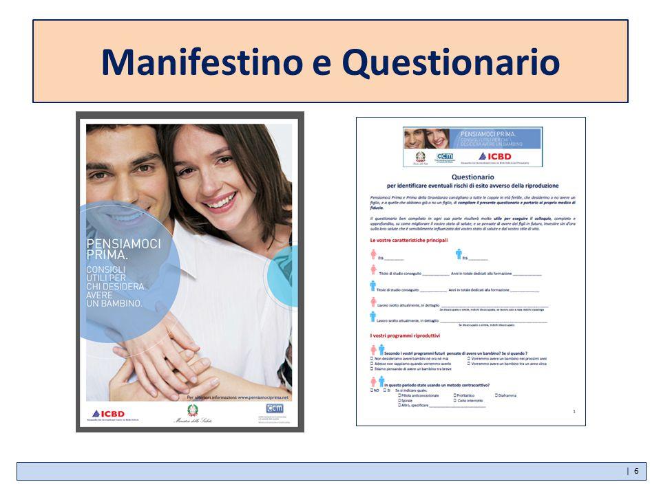 Manifestino e Questionario | 6