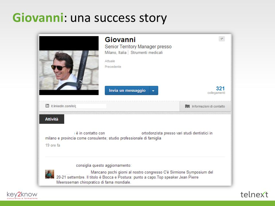 Giovanni: una success story