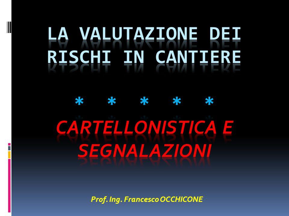 Prof. Ing. Francesco OCCHICONE